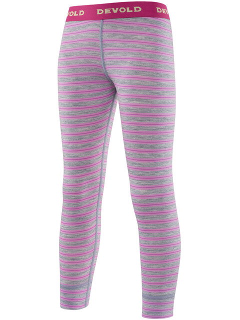 Devold Breeze Long Johns Kids Peony Stripes